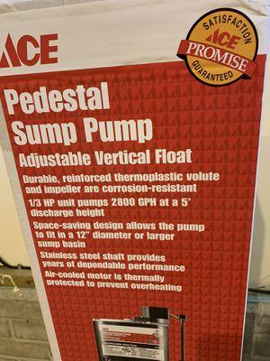 Sump Pump for Sale in Lincoln, NE
