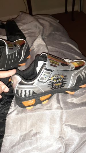 Max D Monster Jam boy shoes for Sale in San Antonio, TX