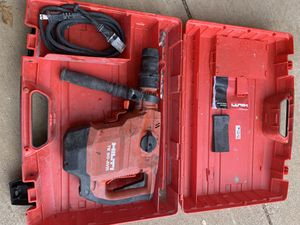 Hilti rotary hammer for Sale in Lubbock, TX