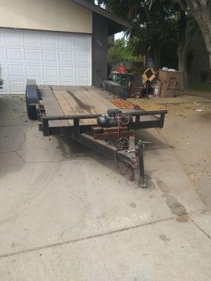 Utility trailer w/ winch for Sale in Burbank, CA