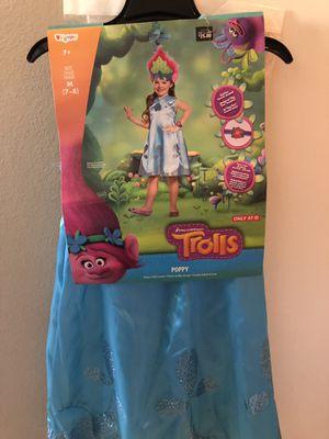Girls trolls poppy costume for Sale in Rialto, CA