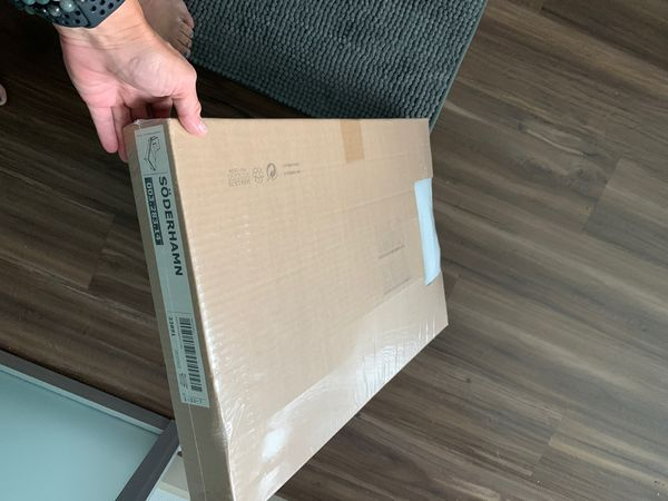 New, Unopened IKEA chaise cover, Soderham white