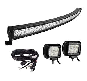 Curved led bar with 2 single side lights for Sale in Bakersfield, CA