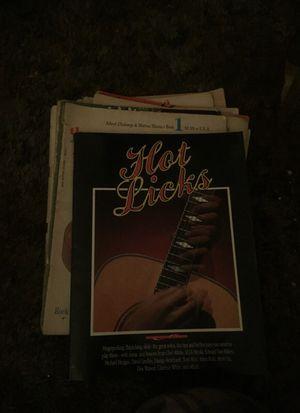 guitar lesson books for Sale in Lodi, CA