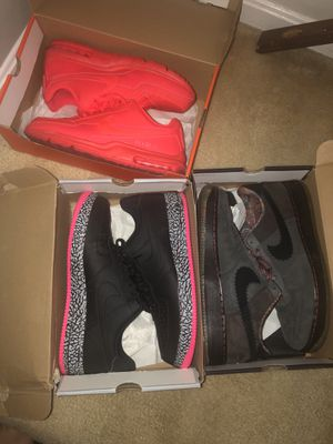 AF1 and air max size 14 for Sale in Silver Spring, MD
