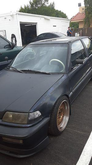 1990 Honda civic SI EF for Sale in Orlando, FL