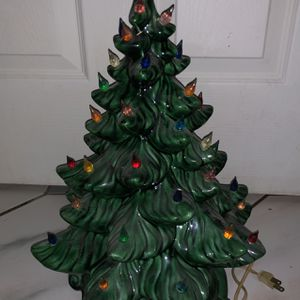 Decorative Glass Christmas Tree for Sale in Hollywood, FL