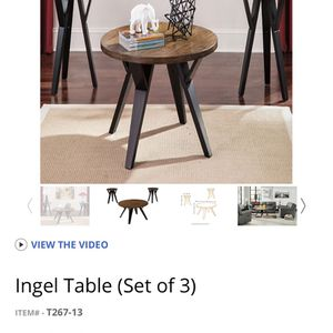 Coffee Table Set for Sale in Poway, CA