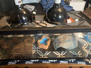 2 1/2 long tank aquarium heat lamps heat pad for Sale in Philadelphia, PA