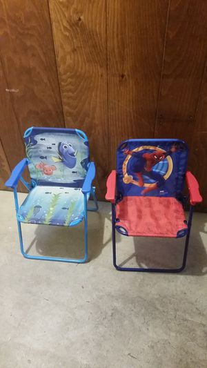Kids folding chairs for Sale in Midlothian, IL