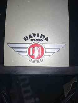 Vintage Davida UK Motorcycle helmet (med) *Triumph for Sale in Los Angeles,  CA