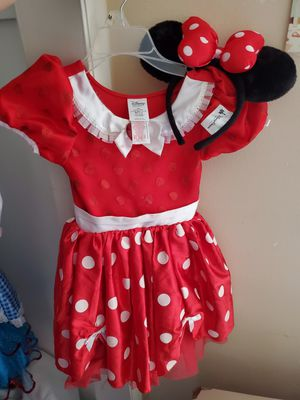 Disney Minnie mouse with ears child 5/6 for Sale in American Fork, UT