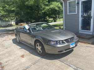 2002 Ford Mustang convertible 3.8l v6 130,000 miles runs and drives great just took it on a 4 hr trip and did great. No lights on the dash. Aftermark for Sale in Gillespie, IL
