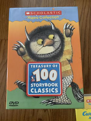 Almost NEW-Dvds- From famous Scholastic children books for Sale in Downey, CA