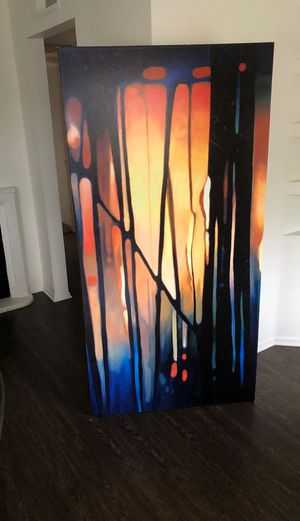 great 3ft by 6ft canvas wall art for Sale in Los Angeles, CA