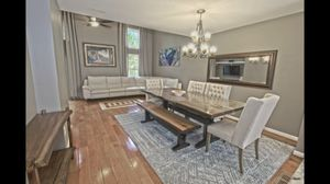 Dinning Room Table with 6 Chairs & Bench for Sale in Fairfax Station, VA
