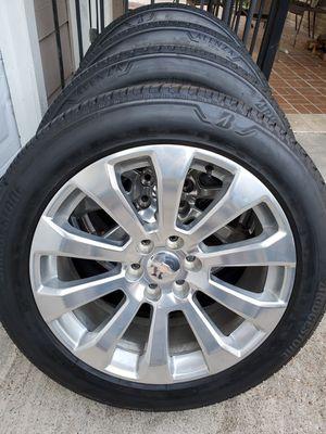 "22"" High Country Chevy Silverado Rims GMC Sierra Wheels Tires for Sale in Humble, TX"