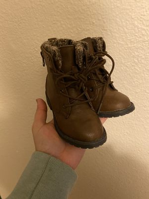 Toddler brown boots for Sale in Mukilteo, WA