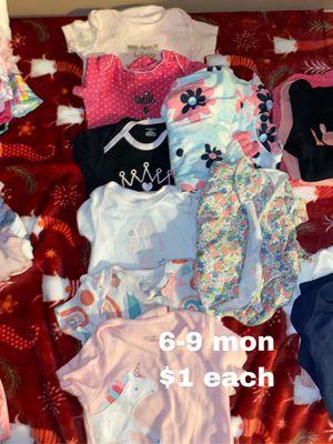 6-9 months onesies $1 each for Sale in La Mirada, CA