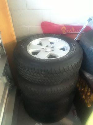 Jeep Wheel Set for Sale in Apopka, FL