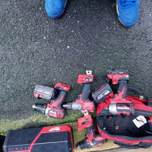 Milwaukee power Tools for Sale in Tacoma, WA