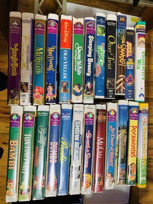 Disney VHS Classics for Sale in Montclair, NJ