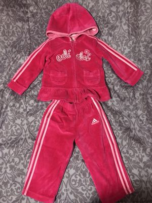 3 pcs. - Adidas Hoody set + nike top (size 12 months) for Sale in Hayward, CA