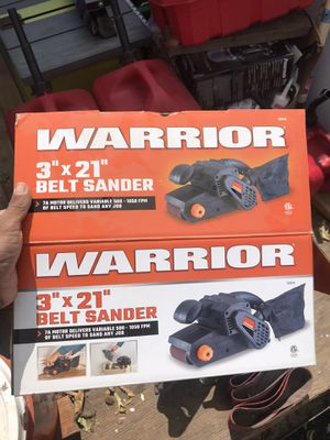 "Warrior 3x21"" belt sander for Sale in Encino, NM"