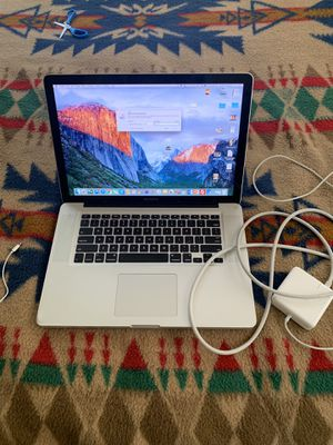 2012 MacBook Pro . W/Charger for Sale in Charlotte, NC