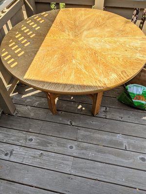 Wood Kitchen table for Sale in Mountain View, CA