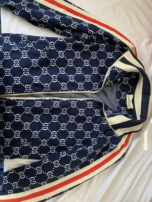 Gucci - GG Jacquard Cotton Jacket Size Larger for Sale in Seattle, WA