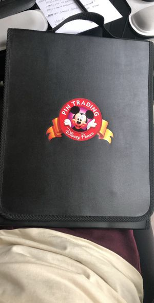 Official Disney Pin trading trifold binder for Sale in Orange, CA