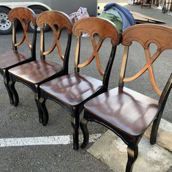 Set Of Four Pier One Dining Chairs - Delivery Available for Sale in Tacoma,  WA
