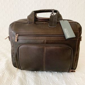 Kenneth Cole Reaction Messenger Bag - Brown. Original Price $460.00 for Sale in Alexandria, VA