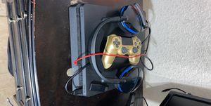 Ps4 slim 1TB w/ wireless headset & nba 2k20 for Sale in Creedmoor, TX