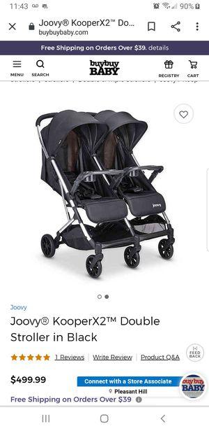 300 OBO **New Joovy double stroller for Sale in Hayward, CA