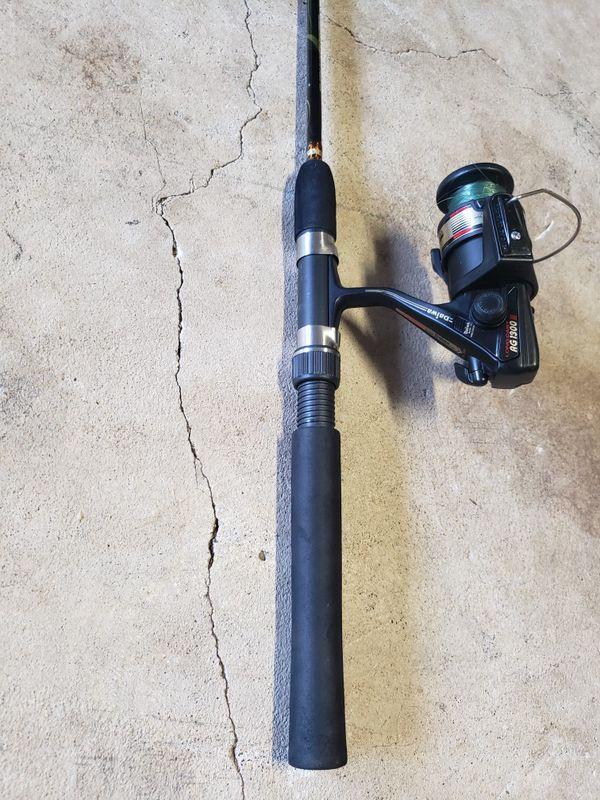 "Fishing pole, with Diawa reel, Length 5.0"""