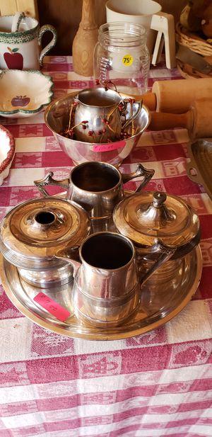 Serving trays creamer sugar bowl for Sale in Farmville, VA