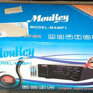 Moukey Professional Power Amplifier for Sale in Newport News, VA