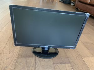 """20"""" computer monitor widescreen for Sale in Seattle, WA"""