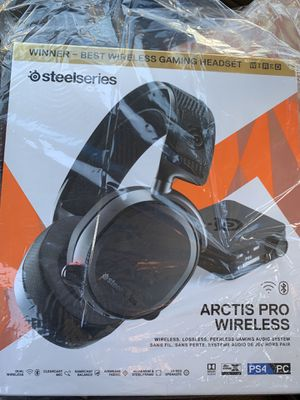 Steel series arctis pro wireless gaming headset for Sale in Rialto, CA