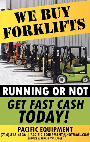 Forklift's for Sale in Anaheim, CA