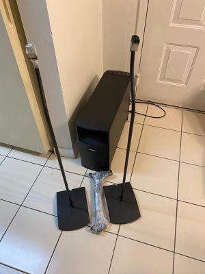 Bose - Acoustimass 10 Series V 5.1-Channel Home Theater Speaker System for Sale in Miami, FL