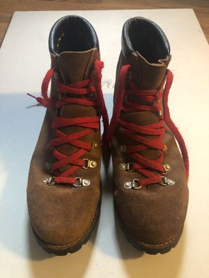 VTG Dexter Suede Roughout Mountaineering Hiking Boots Vibram Soles USA 11 M for Sale in Edinburgh, IN