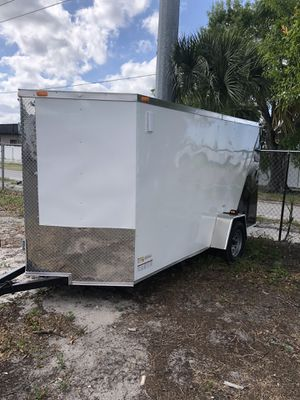 Enclosed trailer 6x12SA Sgc @ Brothers Trailers for Sale in Tampa, FL