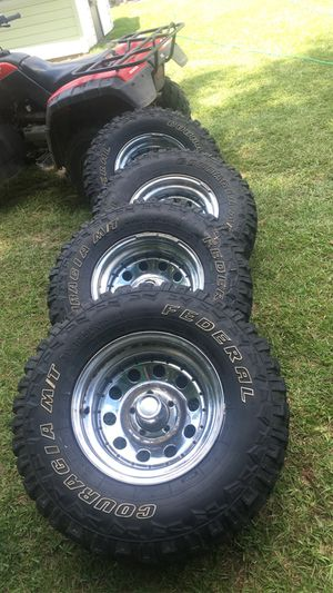 Tires and rims for Sale in Georgetown, SC