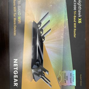 Netgear X6 Tri-Band WiFi Router for Sale in North Las Vegas, NV