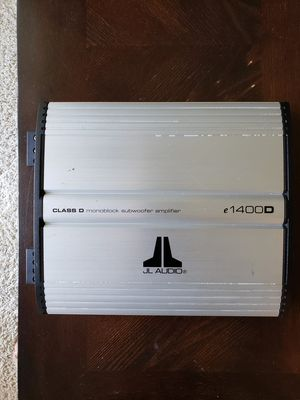 JL AUDIO MONOBLOCK SUBWOOFER AMPLIFIER for Sale in Glendale Heights, IL
