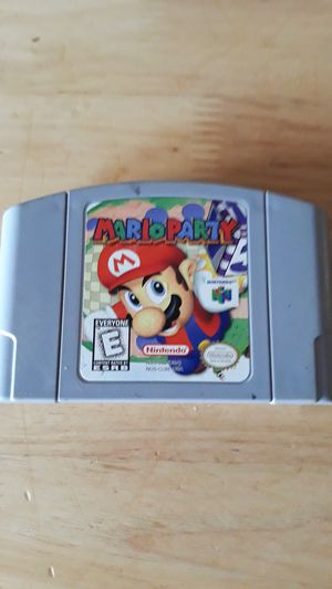 Mario Party for Nintendo 64 authentic original! for Sale in Flagstaff, AZ