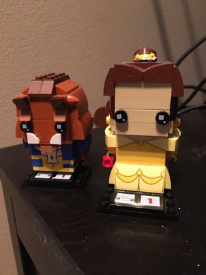 Beauty and the beast lego figures for Sale in Columbus, OH
